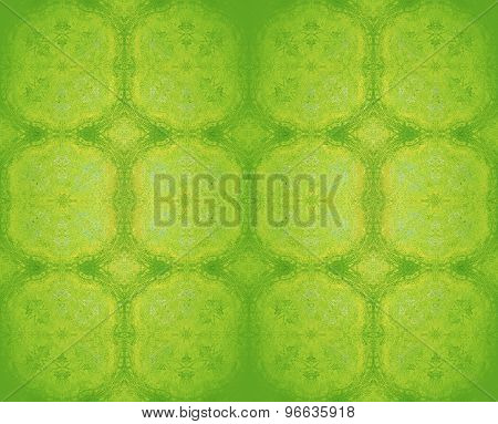 Seamless pattern green yellow