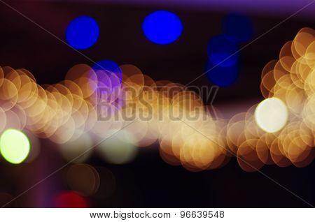 Abstract Lights Bokeh