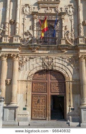 Alcala De Henares University Front Door