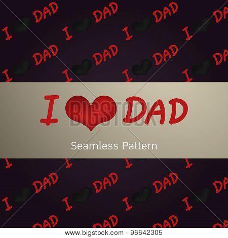 I Love Dad..
