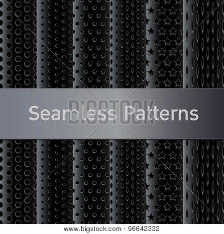 Metal Seamless Patterns..