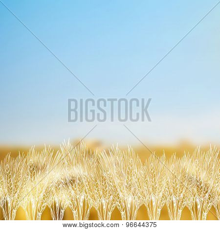 Cereal Blurred Background