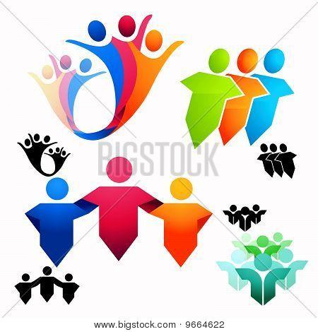 United People Symbols