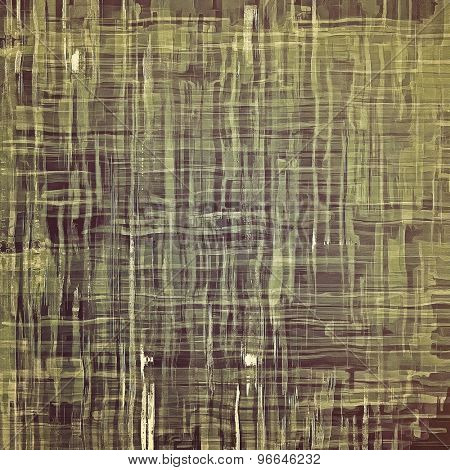 Designed grunge texture or background. With different color patterns: brown; gray; green