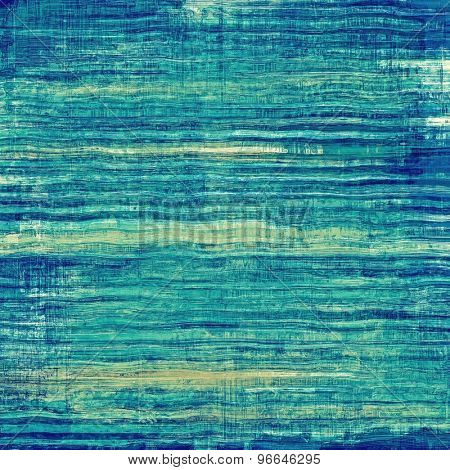 Old Texture. With different color patterns: yellow (beige); green; blue; cyan