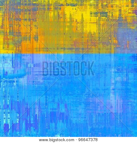 Old antique texture - perfect background with space for your text or image. With different color patterns: yellow (beige); green; blue; purple (violet)