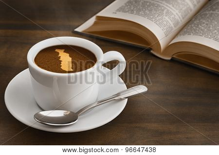 Still Life - Coffee With Map Of Togo