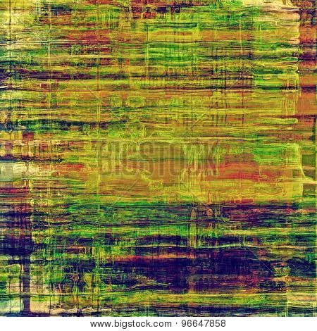 Rough vintage texture. With different color patterns: yellow (beige); brown; green; purple (violet)