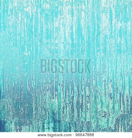 Old designed texture as abstract grunge background. With different color patterns: gray; blue; cyan