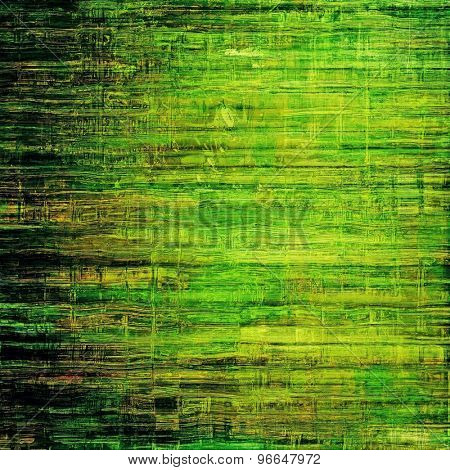 Rough grunge texture. With different color patterns: yellow (beige); brown; green; black
