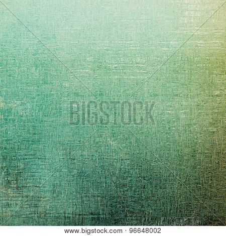 Antique vintage texture, old-fashioned weathered background. With different color patterns: brown; gray; green; blue