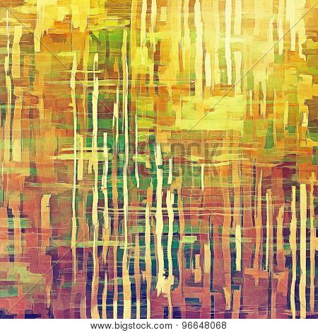 Old Texture or Background. With different color patterns: yellow (beige); brown; green; purple (violet)
