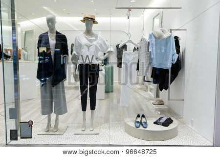 shopfront display window