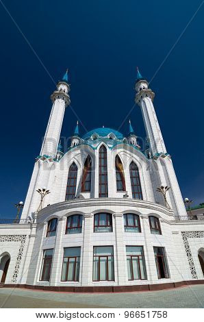 Kul Sharif Mosque In Kazan Kremlin. Unesco World Heritage Site.