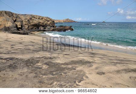Beach On An Islet