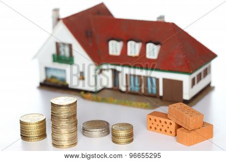 Bricks And House