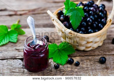 Blackcurrant Jam.