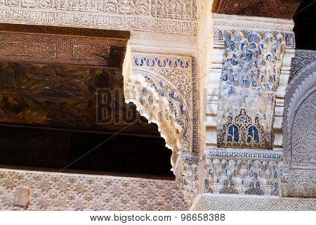 Decoration At Alhambra