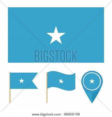 Somalia,country Flag