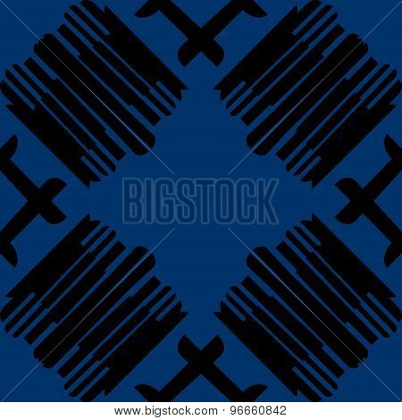 Seamless Tiled Black Lines