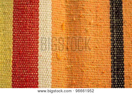 Colored Stripe Fabric Texture