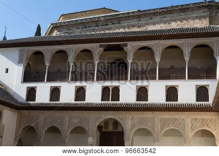 Courtyard At Alhambra