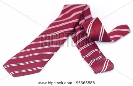 Close Up Of A Necktie