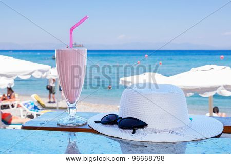 Cold Milkshake. Greece
