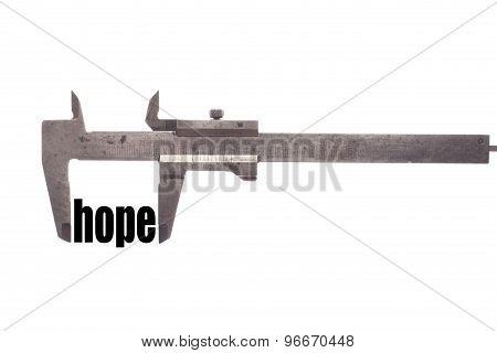 Less Hope