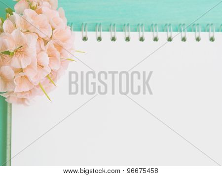 Blank page for a message