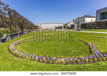 Baroque Mirabell Garden
