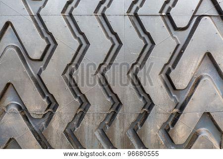Tire Fragment