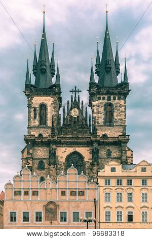 Church of Our Lady before Tyn in Prague, Czechia