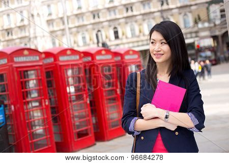 student in London