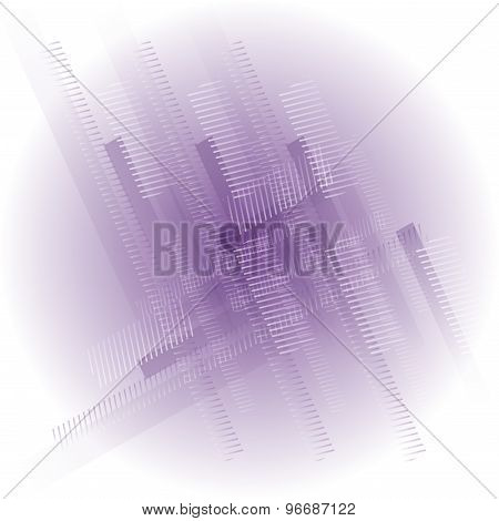 Abstract white background with soft purple tones