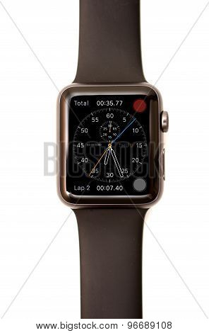 Apple Watch Chronograph Face Screen