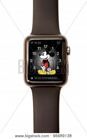 Apple Watch Mickey Face Screen