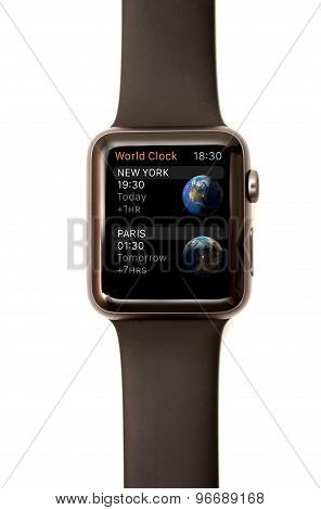 Apple Watch World Time App