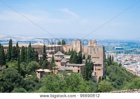 Alhambra And The Mountains