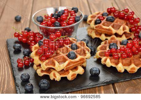 Traditional Belgian Waffles