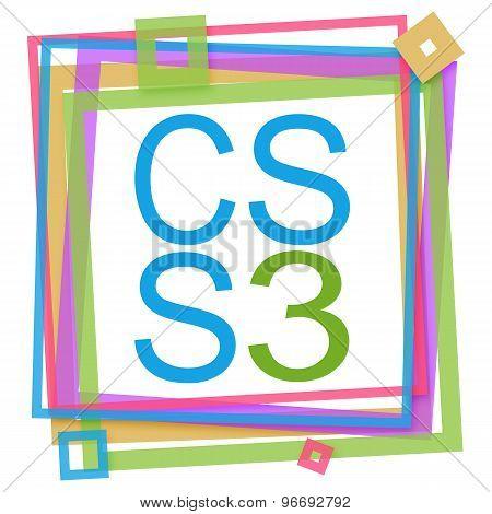 CSS 3 Vibrant Frame