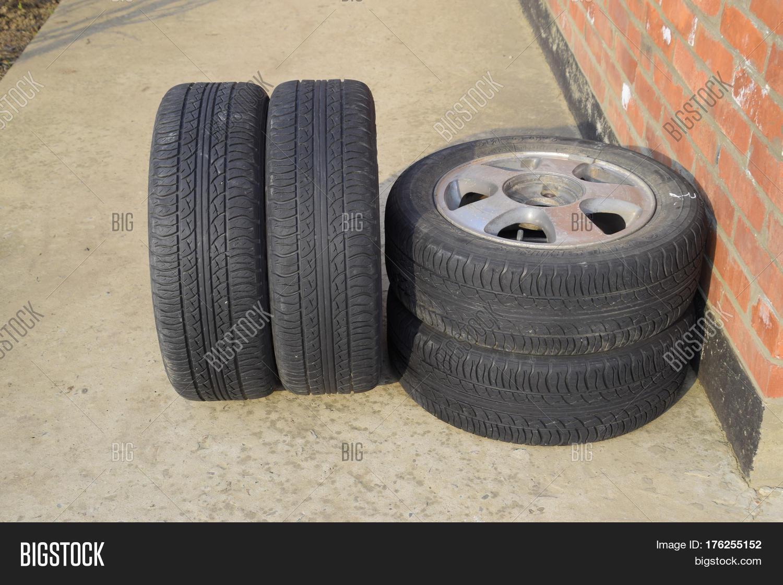 four wheel drive rubber tires image photo bigstock. Black Bedroom Furniture Sets. Home Design Ideas