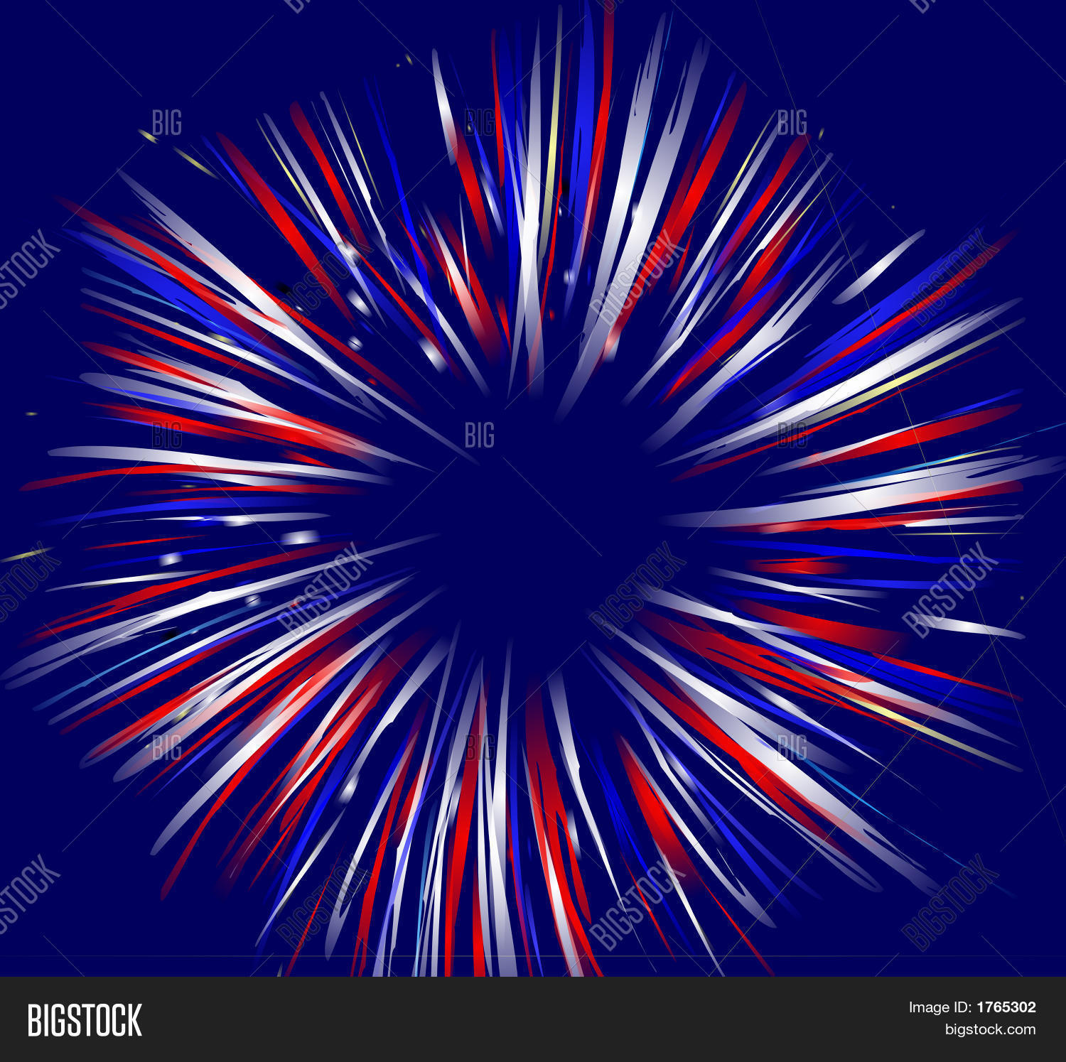 Red white and blue fireworks background for Red white and blue wallpaper