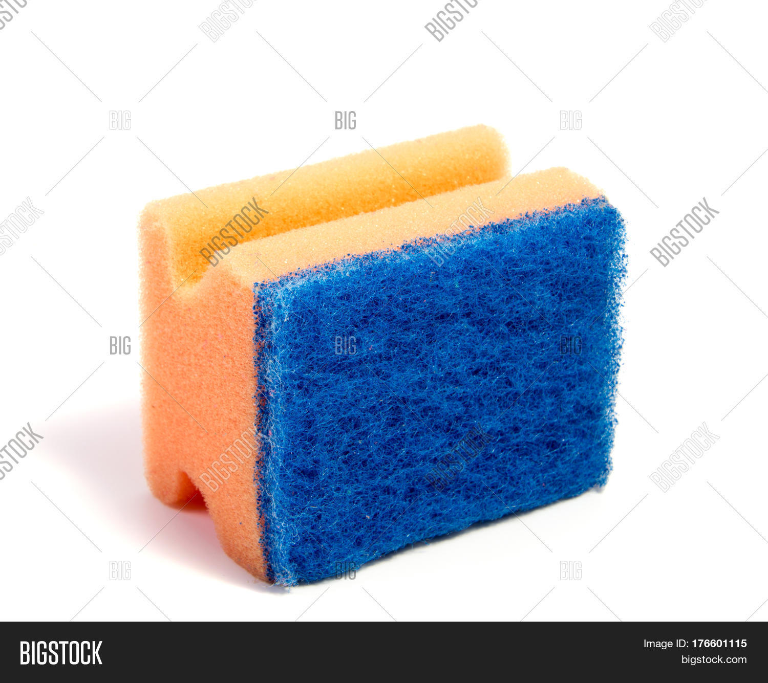 Colored kitchen sponges isolated on image photo bigstock - Seven different uses of the kitchen sponge ...