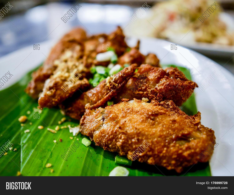 Thai Style Deep Fried Chicken Wings Image & Photo | Bigstock