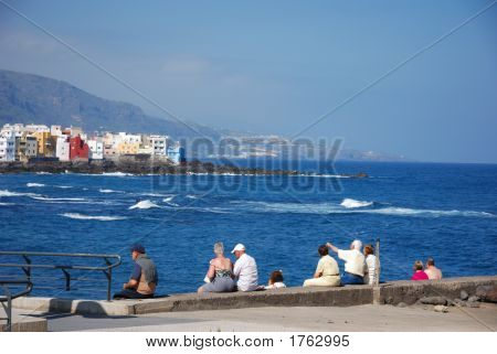 Sitting At The Quay