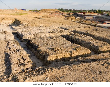 Building Site - Foundations