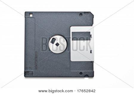 Floppy Disk Isolated On White