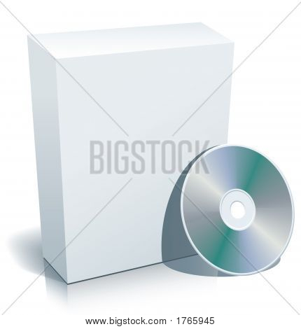 Blank Box And Disc