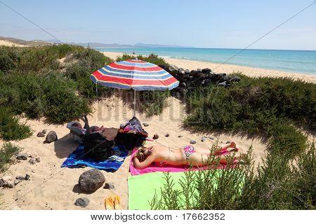 Secret Place On The Beach